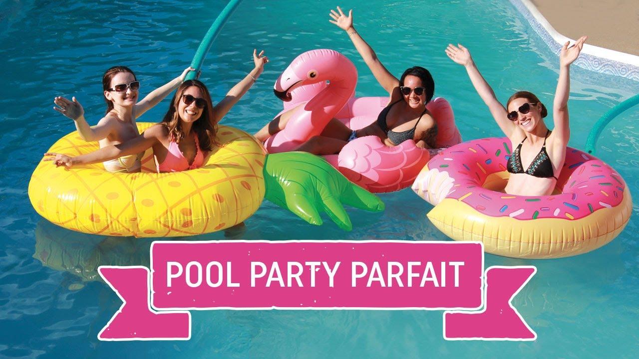 comment organiser un pool party parfait youtube