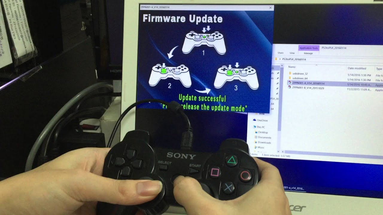 how to download ps4 update on usb