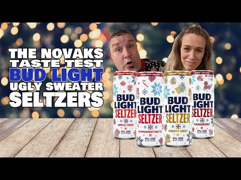 Trying-the-NEW-Bud-Light-Seltzer-Ugly-Sweater-Pack-First-Taste-Honest-Review