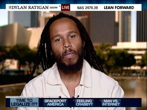 Ziggy Marley Interviewed @ The Dylan Ratigan Show MSNBC in 2010