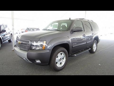 2011 Chevrolet Tahoe Z71 Start Up, Engine, and In Depth Tour