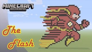 Minecraft: Pixel Art Tutorial and Showcase: The Flash