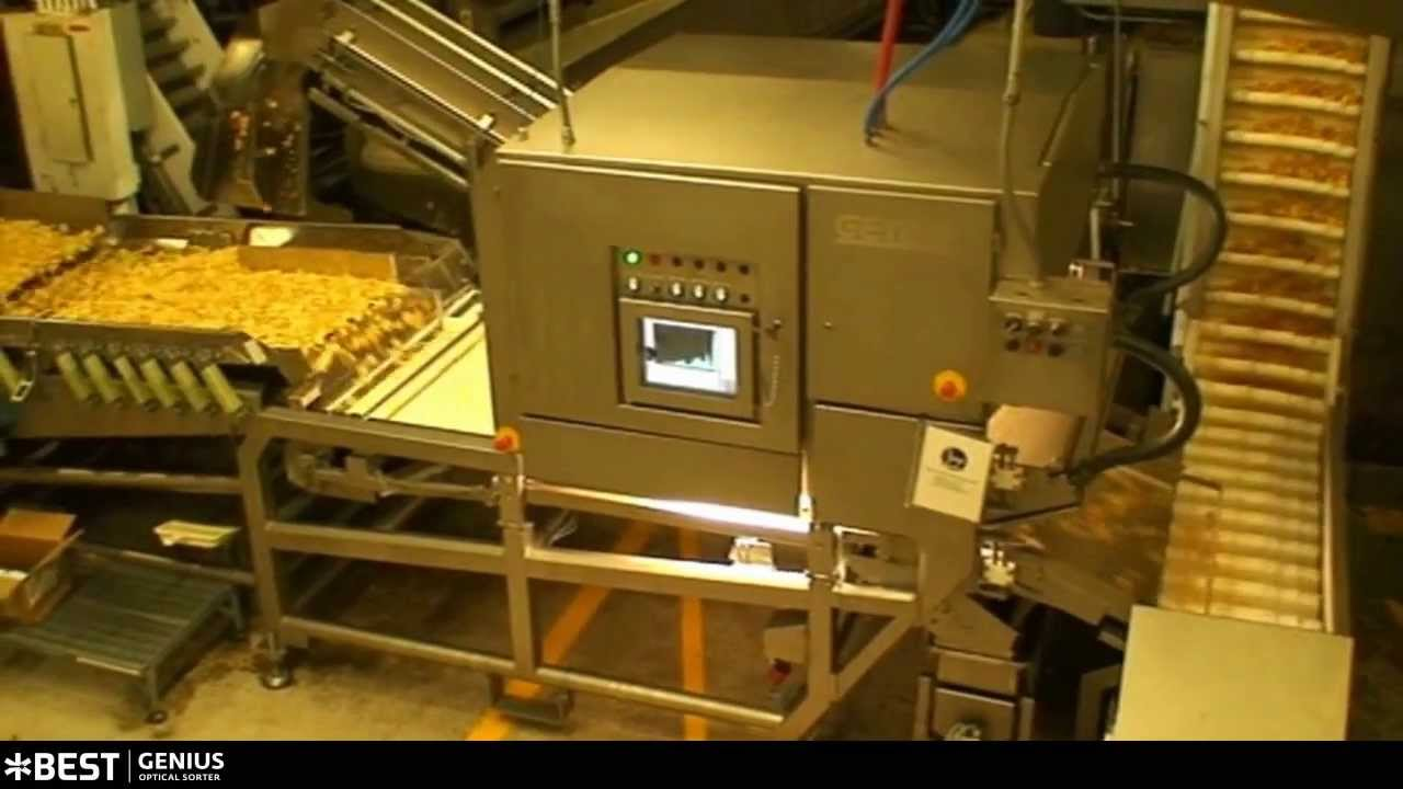 Potato chips sorter Genius - TOMRA Sorting