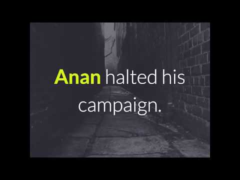 Egypt 2018: Sami Anan Arrested, Withdraws from Presidential Race