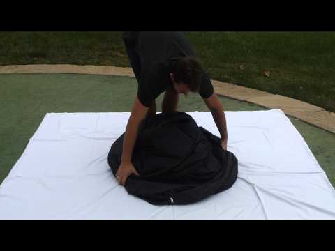 The Privacy Pop Bed Tent Fold