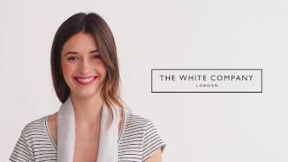 The White Company | 5 ways to wear a scarf