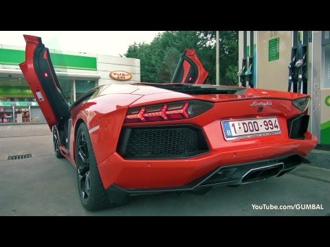 how to start a lamborghini aventador
