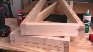 Newwoodworker.com Mobile Clamp Rack
