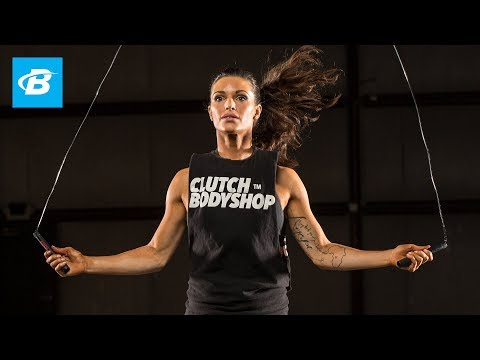 At Home Cardio & Core Workout: Day 5 | Clutch Life: Ashley Conrad's 24/7 Fitness Trainer