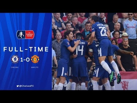 (live) chelsea vs manchester united fa cup final 2018 full match/ball tracking with commentary
