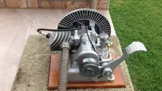 """1939 Kissel 3/4 hp. Hit & Miss Gas Engine """"Waterwitch"""""""