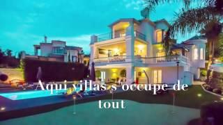 Villa de luxe a louer Marbella