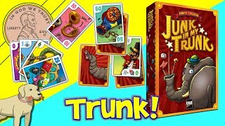 Junk In My Trunk Family Card Game