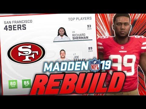 Madden 19 Franchise | Rebuilding The San Francisco 49ers