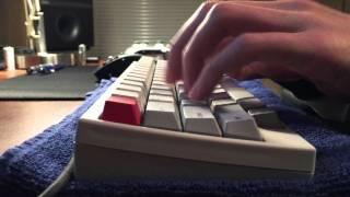 HHKB Professional 2 Type-S Typing Sound Test