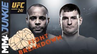 UFC 241 fight breakdown: Daniel Cormier vs. Stipe Miocic 2