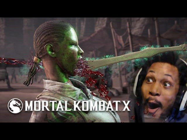 WAIT, NO JACQUI YOU'RE FINISHED | Mortal Kombat X #7
