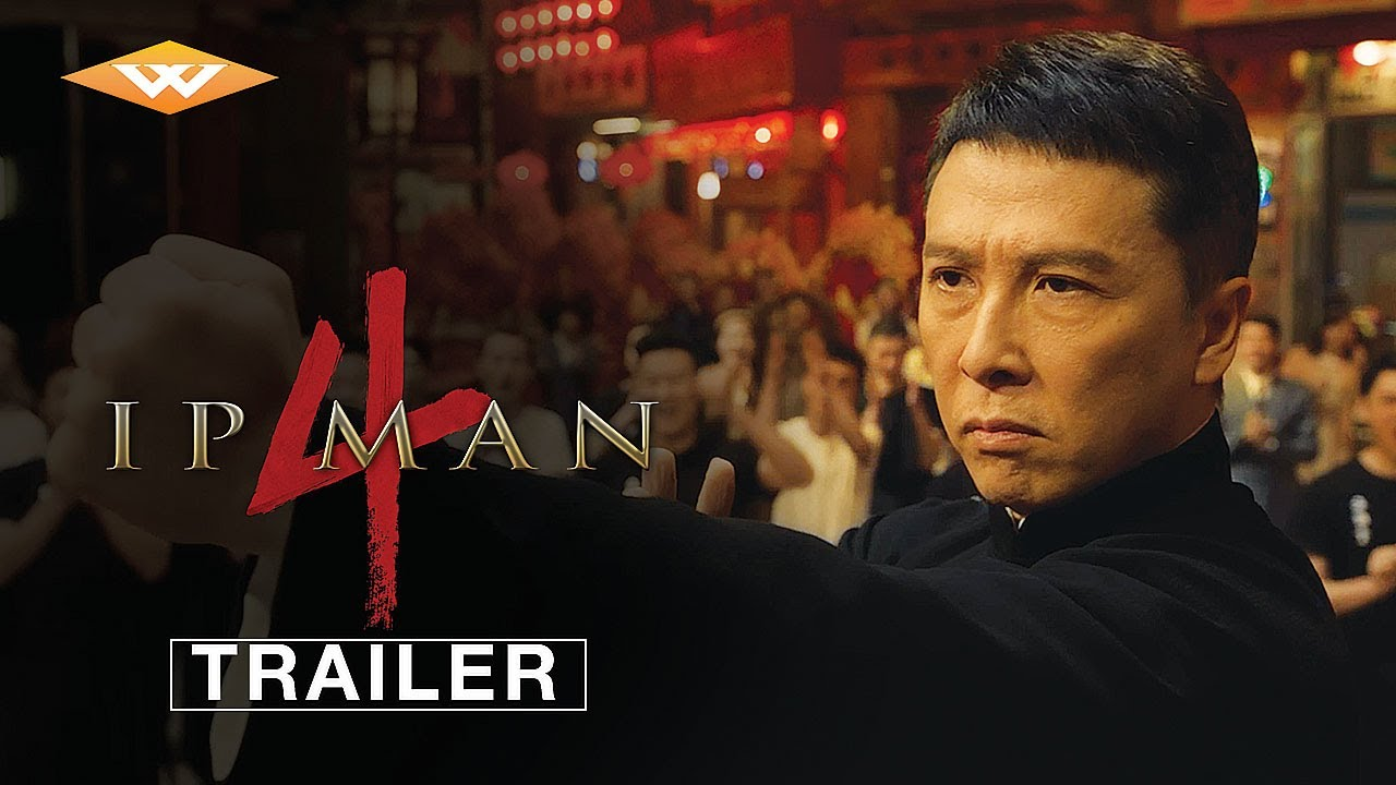 IP MAN 4 (2019) Trailer | Donnie Yen, Scott Adkins Martial Arts Movie