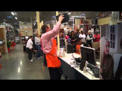 AdrianneD Home Depot Ladies Night