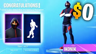 *NEW GLITCH* GET THE *IKONIK* SKIN FOR FREE $0 in FORTNITE ! (PS4/SWITCH/XBOX/PC)