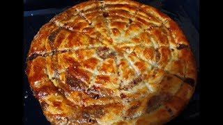 САМЫЙ ВКУСНЫЙ хрустящий красивый МЯСНОЙ пирог УЛИТКА ВКУСНОТИЩА всегда просят добавки