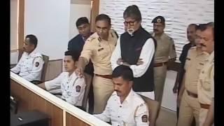 Amitabh Bachchan  visit Mumbai Traffic police Control room