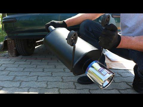 Honda Civic - Exhaust Installation