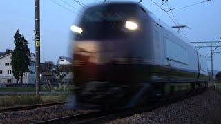 〔4K UHD|cc〕JR東日本・上越線:浦佐~五日町駅間、E655系/■団体臨時列車■『和【なごみ】』回送走行シーン。