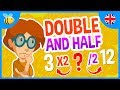 Double And Half Of A Number | Kids Videos