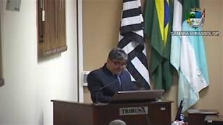 24ª Sessão Ordinária - Vereador Ademir Massa