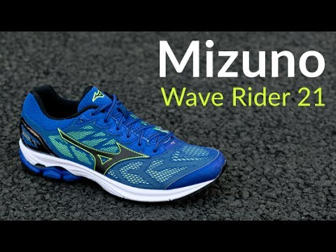 b3aa591e1585 Mizuno Wave Rider 21 - Running Shoe Overview - YouTube