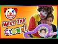 Funny Clown Show For Kids | Kids Having Fun | Balloons For Kids and Children | Video for Kids