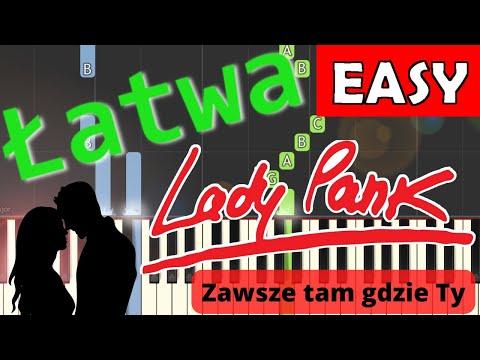 🎹 Zawsze tam gdzie Ty (Lady Pank) - Piano Tutorial (łatwa wersja) 🎹