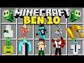 Minecraft BEN 10 MOD | CANNONBOLT, WILDMUTT, RIPJAWS, THE OMNITRIX & MORE!!