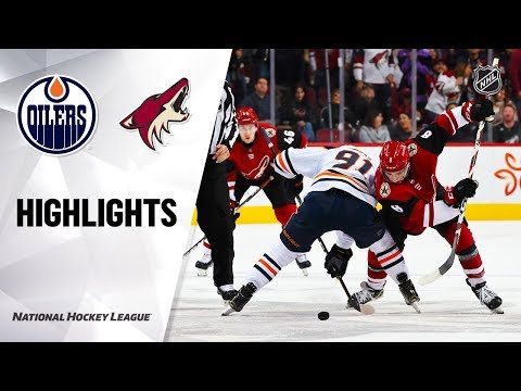 NHL Highlights   Oilers @ Coyotes 11/24/19