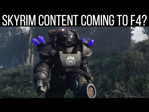 Fallout 4 Got a 700mb Update - YouTube