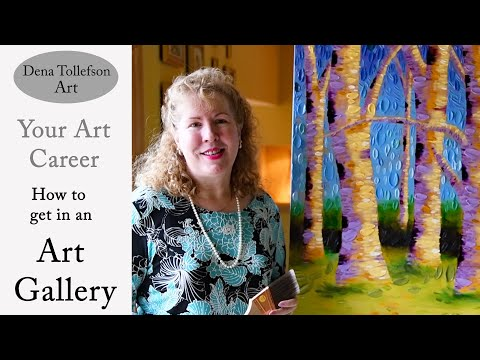 How To Get In An Art Gallery: What Worked For Me.  Approaching Art Galleries For Representation