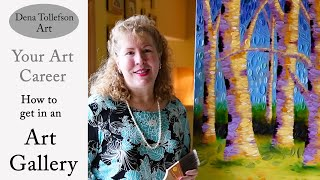 Advice, tips and guidance on how to approach an art gallery for rep...