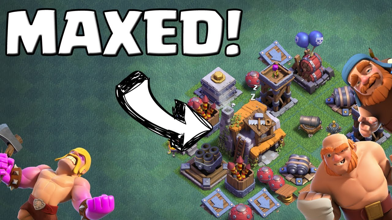 Maxed Truppen Meisterhutte Level 5 Clash Of Clans Lp Coc