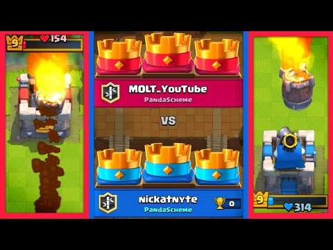 CLASH ROYALE ROCKET 3 CROWN TIE!