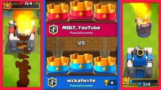 ROCKET 3 CROWN DRAW! // Clash Royale