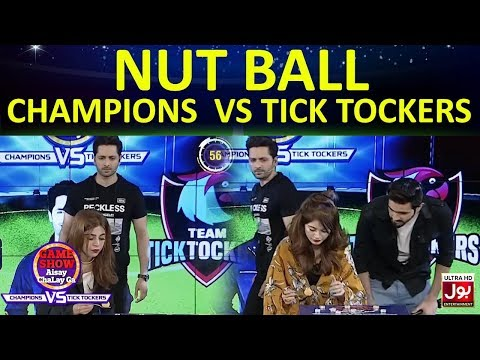 Nut Ball    Game Show Aisay Chalay Ga League   TickTock Vs Champion