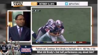 ESPN First Take   Tom Brady Lead Patriots Completely Deflate Cowboys