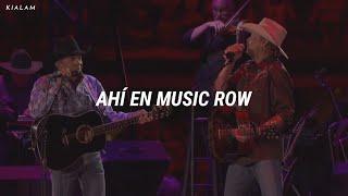 George Strait, Alan Jackson // Murder On Music Row (Traducción en español)