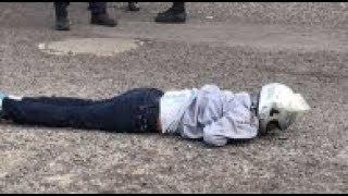 VIDEO Balacera en Veracruz deja 2 hombres muertos en Fracc. Los Pinos