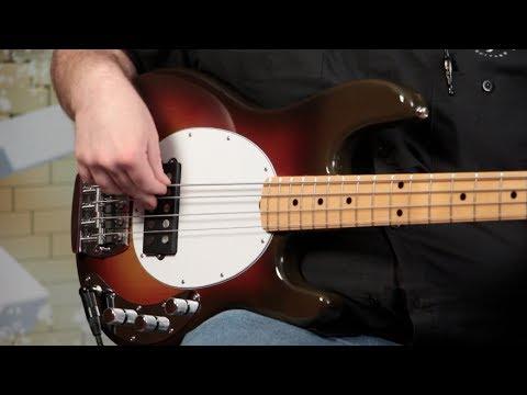 "Music Man StingRay 40th Anniversary ""Old Smoothie"" Bass Demo"