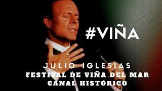 Julio Iglesias (en vivo) -La vida sigue igual - Festival de Viña del Mar 1981 #VIÑA