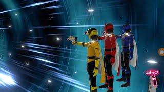 Kaitou Sentai Lupinranger VS Keisatsu Sentai Patoranger Video Game LupinRangers (Chapter 1)