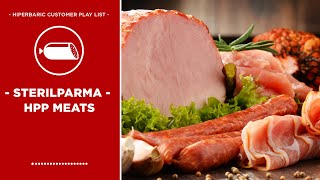 SterilParma - HPP high pressure processing Meats