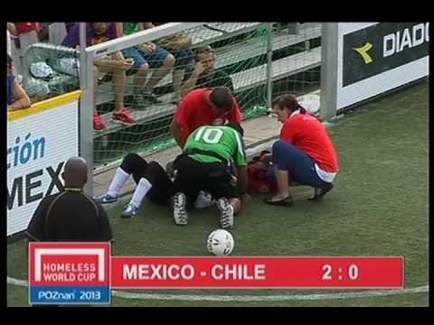Poznan 2013 - MEXICO - CHILE   WOMENS'S HOMELESS WORLD CUP FINAL